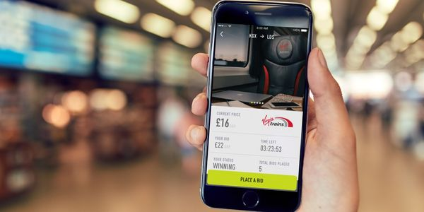 Global first alert - Seatfrog powers upgrade auction app for UK's Virgin Trains
