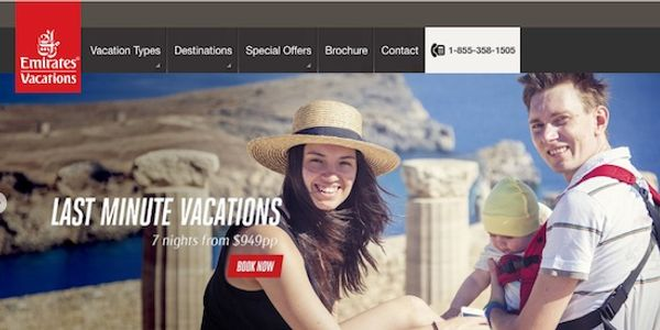 Emirates Vacations digs into intent using chatbot ads