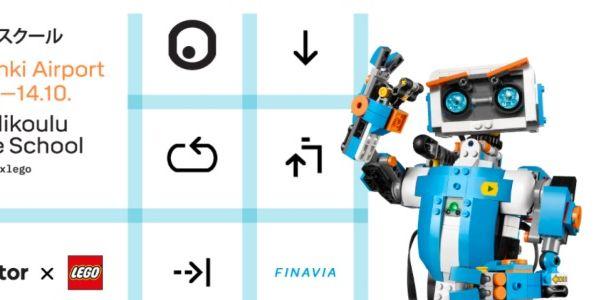 Helsinki Airport, Reaktor and LEGO host code school for kids