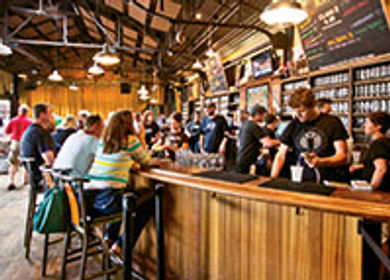 The local craft beer scene (and unusual meeting spaces it provides) is drawing groups to Grand Rapids