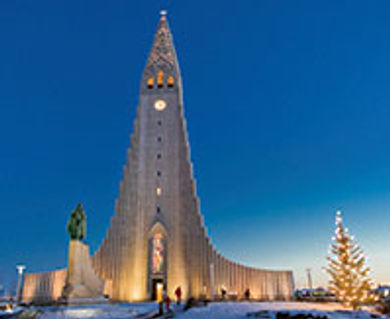 The Hallgrimskirkja Lutheran church is one of Iceland's many stunning cultural attractions
