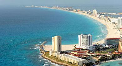 Sky view Cancun Hotel Zone