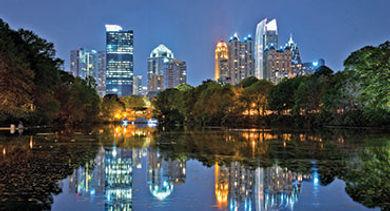 Atlanta Reflection Lake