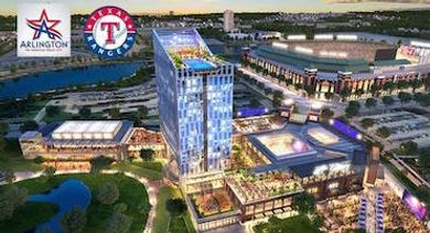 Arlington Texas Hotel Entertainment Complex