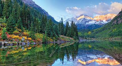 Colorados Rocky Mountains stock