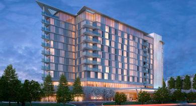 Menlo Gateway Hotel - Rendering