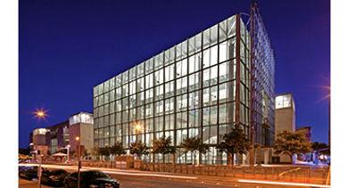 Austin Convention Center night exterior