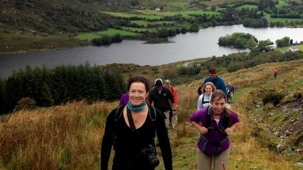 Hiking to the Gougane Barra Lake is one of the highlights of the tour. // © 2015 Vagabond Tours of Ireland 3