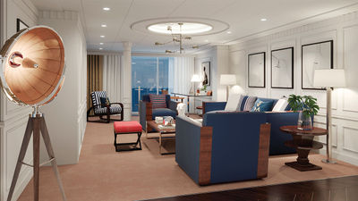 Oceania Unveils New Vista Library and Owner's Suites