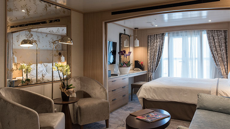 Star Breeze features 50 new suites following its transformation.