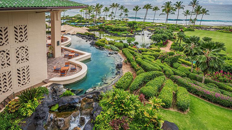The Grand Hyatt Kauai Resort & Spa is slated to reopen on April 5.