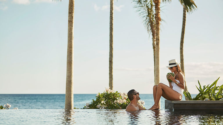Four Seasons Resort Oahu at Ko Olina indulges couples with such romantic amenities as an adults-only pool.