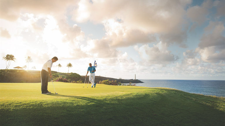 Timbers Kauai's Stay and Play package comes with three rounds of golf on a Jack Nicklaus course.