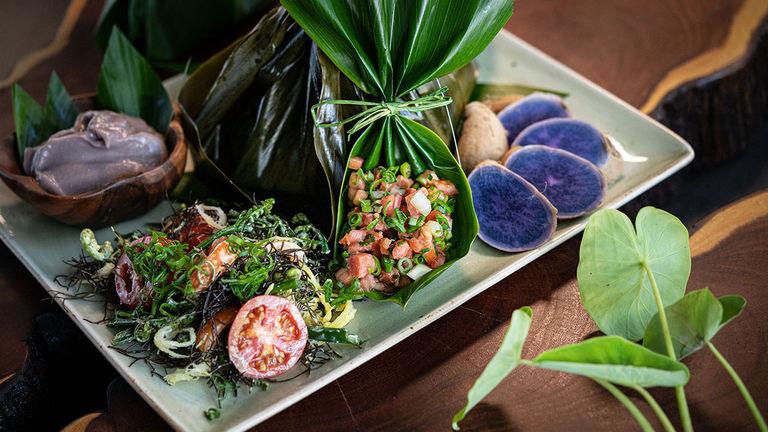 Huihui restaurant serves inventive fare.
