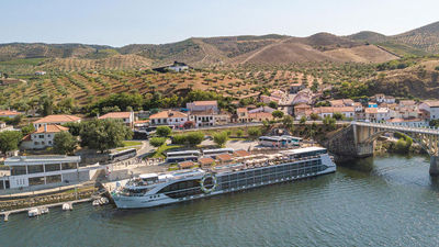 Tauck's New Douro River Ship, Andorinha, Sets Sail in Portugal