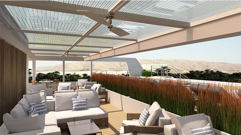Viking Aton will feature a pool and sun deck.