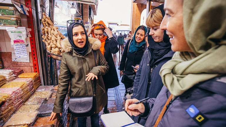 Intrepid Travel's women-only trips focus on destinations and experiences that would not be accessible for mixed-gender groups.