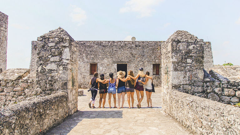 New friendships are often formed during women-only trips.