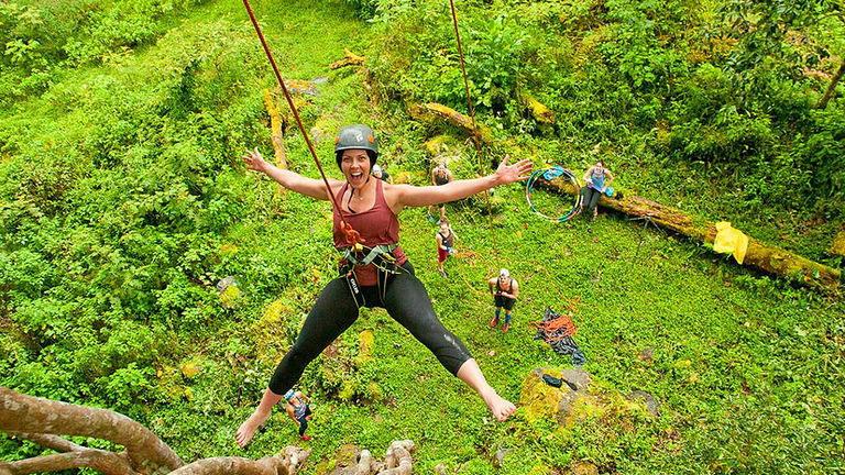 Women are encouraged to step into their power on women-only adventure trips.