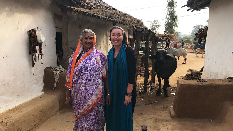 Female travelers are values-oriented and interested in helping local communities.