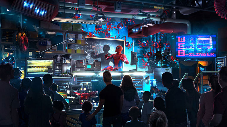 Web Slingers: A Spider-Man Adventure will be part of Disney's Avengers Campus.