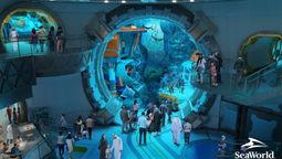 The world's biggest aquarium awaits in one indoor ocean