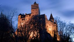 Jabbed with needles, not fangs at Dracula's castle