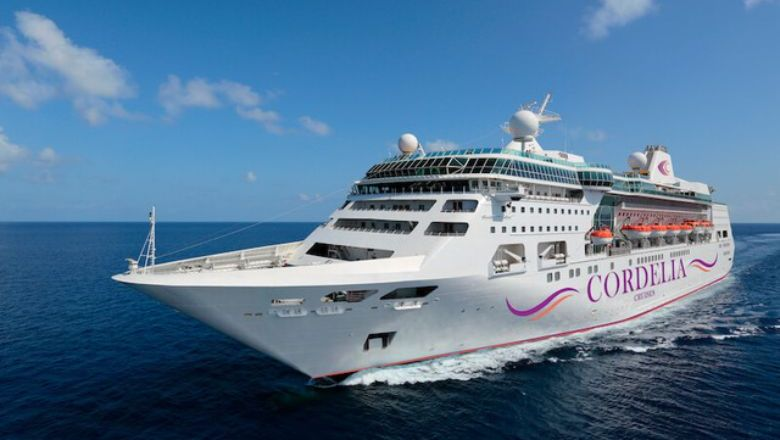 Cordelia Cruises' The Empress was once in the Royal Caribbean fleet.