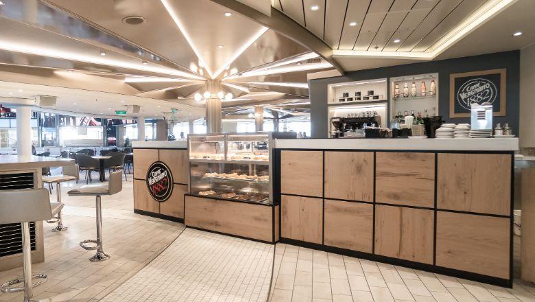 The first Caffè Vergnano 1882 branded venue will launch on Costa Smeralda, and then Costa Toscana.