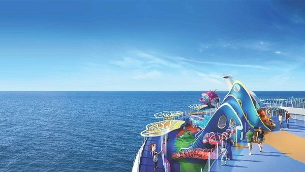 The Wonder Playscape will be an underwater-themed adventure play area.