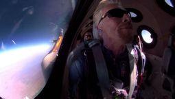 Billionaire Richard Branson blasts his way into space