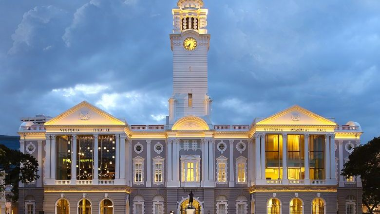 Trafalgar's guided tour of The Arts House and Victoria Theatre & Victoria Concert Hall offers guests a historic-first clock tower access
