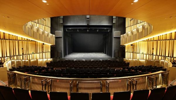 Interior of Victoria Theatre & Victoria Concert Hall
