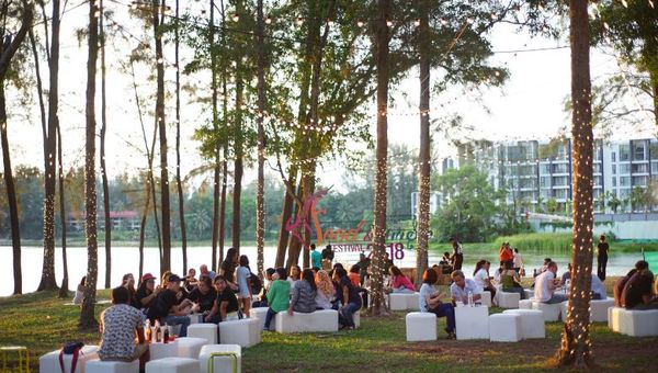 The expansive grounds of Laguna Phuket will house the 19-day festival.