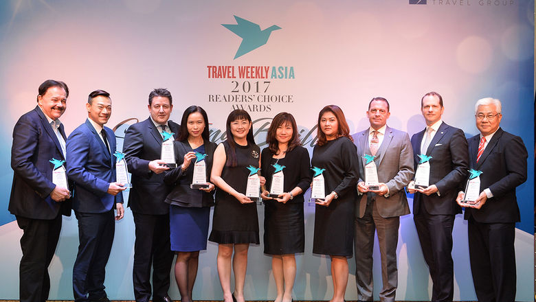 Ten awards were presented for the hotels category this evening