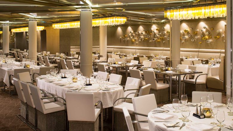 Chic, a complimentary restaurant on Quantum of the Seas.