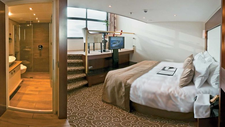 Tauck's loft cabin on Inspiration-class river ships.
