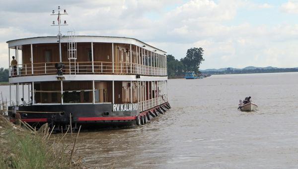 Pandaw River Expeditions' 36-passenger Kalaw Pandaw.