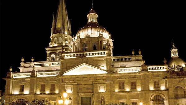 Metropolitan Cathedral in Guadalajara.