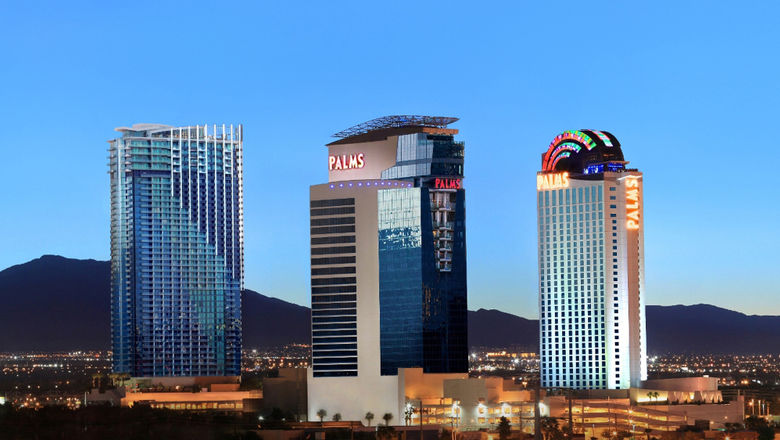 The Palms Casino Resort opened in 2001 just off the Strip and has long catered to locals and visitors.