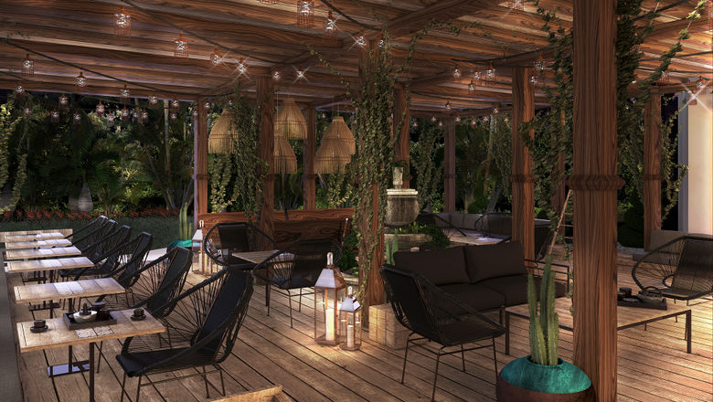 Unico 20.87, scheduled to open in March, will offer five dining venues, including Cueva Siete, which will serve modern Mexican fare.