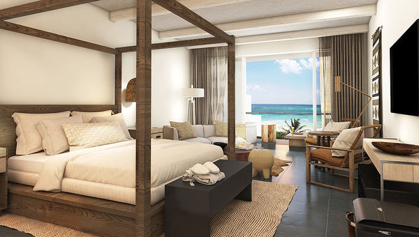 Most of the 448 guestrooms at Unico 20.87 will have ocean views.