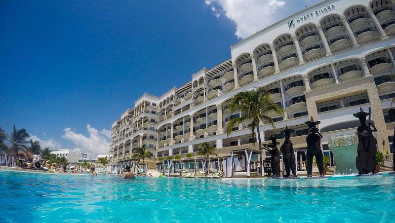 The Hyatt Zilara Cancun, an all-inclusive resort operated by Playa Hotels.