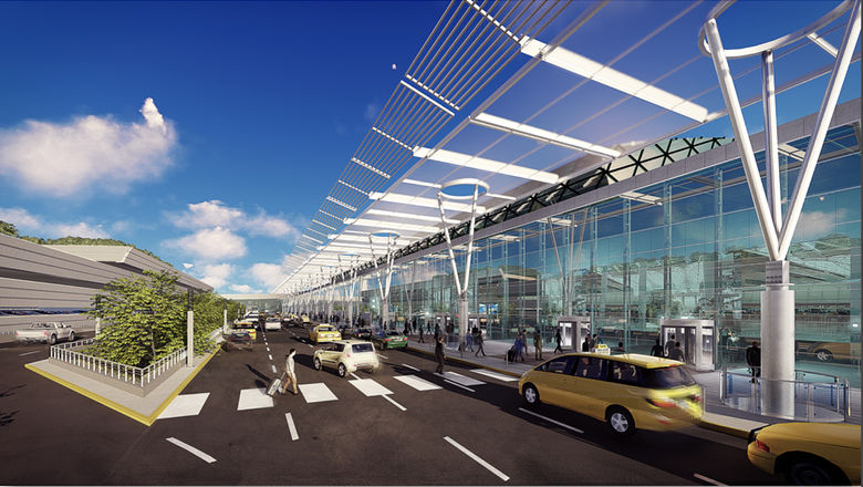In addition to a $7 billion airport renovation, the governor's JFK plan calls for up to $2 billion in roadway and public transportation improvements.