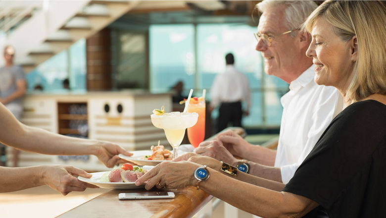 Ocean Medallions will work in tandem with the Ocean Compass mobile app, which will make drink suggestions based on preferences or prior purchases.