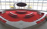 The main lounge waiting area.