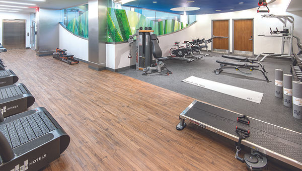 The Even Hotels Times Square South features high-end fitness facilities for its emphasis on wellness.