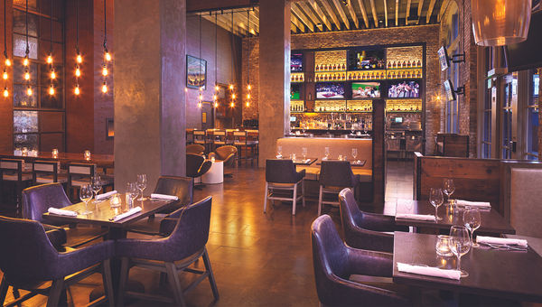 The Brick & Beam pub at San Francisco's Hyatt Centric Fisherman's Wharf hotel draws three-quarters of its guests from outside the hotel.