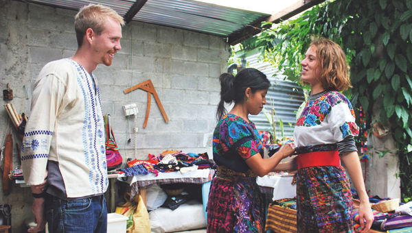 Charlie Marchant of Charlieontravel.com visits with Small Change 4 Big Change in Guatemala, an experience offered by Visit.org.