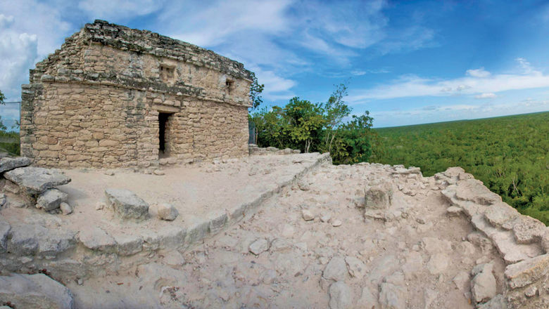 Coba is one of the last Mayan sites left where visitors can still climb the ruins.